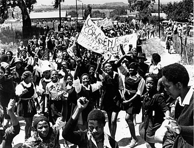 Soweto-Aufstand. Anti-Apartheid Movement Archive, Bodleian Library, Oxford UK